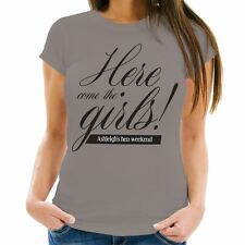 Personalised Here Come the Girls Hen Party T-Shirt, Bridesmaid Night Out Gift