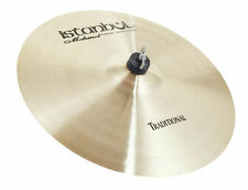 """Istanbul Mehmet Cymbals """"TRADITIONAL CRASH THIN"""" CTH  HAMMERED TURKISH CYMBALS"""