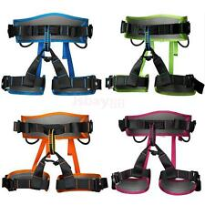Safety Belt Bust Seat Sit Harness Rock Tree Climbing Outdoor Rappel Rescue Equip