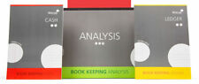 A4 Silvine Book Keeping Pads - Cash Journal Analysis Ledger