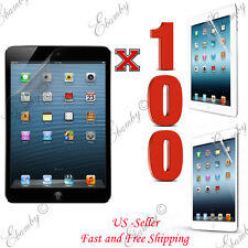 Wholesale 100pcs Premium Clear Film Screen Protector For iPad 4 3 2 1 Air Mini