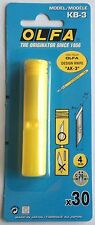 Genuine Olfa Art Knife Replacements Blades Pack Of 30 KB-3 For Knife AK-3