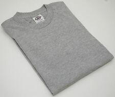NEW Delta Apparel Blank GRAY Pro Weight Youth Short T-SHIRT Boys or Girls S/M/L