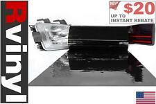 Rtint Blackout Smoke Tint Film Wrap for Head Tail Fog Light High Low Beam & More