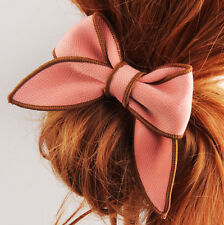 Hair Accessories Holder Ponytail Scrunchie Hair Rope Hairband Satin Ribbon Bow