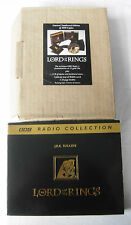 Lord of the Rings audio + maps BBC Ltd no'd ed 13 Gold cds + cd of theme music