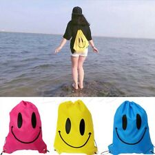 DrawString Pouch Beach Bag Sport Travel Swim Gym Duffle Waterproof Backpack Hot