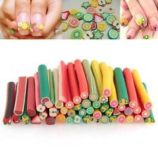 Nail Art Fimo Canes Rods Decoration Sticks Sticker Fruit Flower Cake Dollhouse
