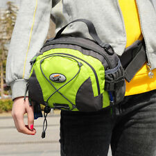 Unisex Nylon Outdoor Sports Running Cycling Hiking Camping Waist Bag Fanny Pack