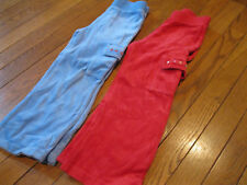 EUC RED Gymboree Sugar and Spice Velour Pull-on Pants sz 4