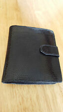 BOTTEGA VENETA Made in Italy snakeskin WALLET new