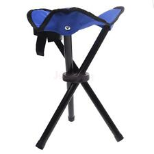 Camping Fishing Picnic Travel Portable Foldable Tripod Folding Stool Chair