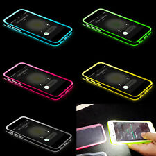 1X LED Flash Light UP Remind Incoming Call Cover Case Skin For Samsung Galaxy S4