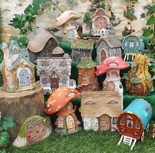 Vivid Arts Miniature World Fairy Pixie Garden Building Cottage Toadstool Caravan