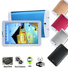"7"" HD Android 4.2 Dual SIM Camera 3G Dual Core PC WIFI Bluetooth GPS Tablet HOT"