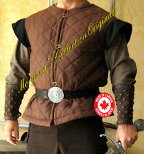 Medieval Armor Short Sleeveless Gambeson Deluxe