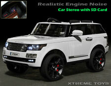 XTREME Ride on Car Range Rover Style Vogue Sport - New Kids 12v Electric Jeep