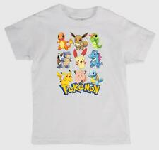 Childrens Tee Shirt with POKEMON characters on quality cotton Kids T Shirt