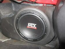 MTX Thunderform for FORD MUSTANG 2005-2013 Amplified Custom Subwoofer Box Loaded