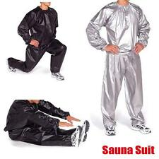 Heavy Duty Sweat Suit Sauna Exercise Gym Fitness Weight Loss Anti-Rip Suit M-3XL