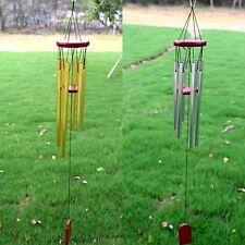 Antique Windchime Chapel Church Tubes Bells Wind Chimes Yard Garden Home Decor