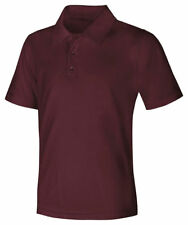 Classroom Uniforms Adult Short Sleeve Polyester Snag Resistant Polo Shirt. 58604
