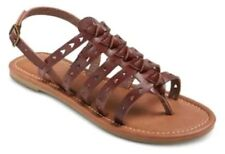 MOSSIMO SUPPLY Women's Brown Lori Thong Flat Sandals Size 9 - NEW