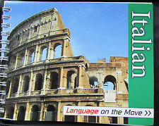 Language On The Move: Italian by Hinkler Book Distributors (2009) book and CD's