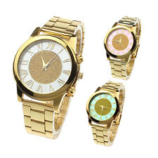 Fashion Stylish Unisex Watches Quartz Trendy Wrist Watch Stainless Steel Watches