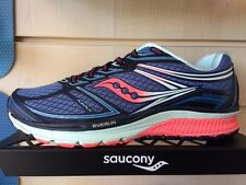 SAUCONY GUIDE 9 - WOMENS - Guidance Trainer - Cobalt/Coral/Blue