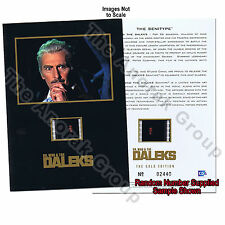 Doctor Dr Who Daleks 2150 Peter Cushing 2 Senitype Film Cells+2 Campaign Booklet