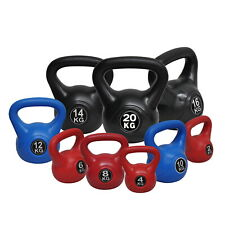 KETTLEBELL WEIGHT SET - 20KG  24KG  28KG HOME GYM TRAINING KETTLE BELL EXERCISE