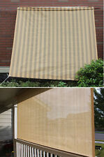 6FT Outsunny Garden Patio Triangle Sun Shade Sail Awning Shelter Canopy Awning