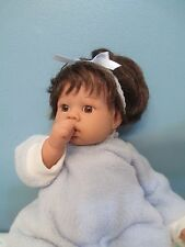 Adorable All Original Vinyl/Cloth Baby Doll by Lee Middleton, Reva, 2000