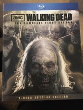 Walking Dead: The Complete First Season(Blu-ray Disc, 2011, 3-Disc Set, Special