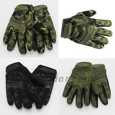 Outdoor Full Finger Gloves Military Tactical Airsoft Hunting Riding Cycling