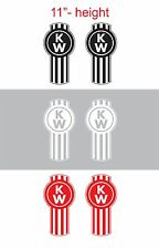 "2pcs 11""height KENWORTH Vinyl Sticker Decal Graphic for SEMI TRUCK"