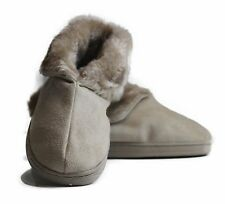 INVISIBLE PRINCESS Grosby Beige Warm Winter Mocassins Boots Size 5 6 7 8 9 10