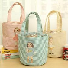 Portable Doll Insulated Thermal Cooler Lunch Box Picnic Bag Tote Storage Case