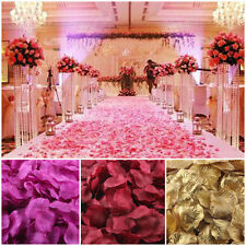 1000pcs Rose Confetti Petals Artificial Bouquet Wedding Party Flower Favor Decor