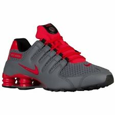 NIKE SHOX NZ 2016 GREY ACTION RED MENS RUNNING  SHOES **FREE POST AUSTRALIA
