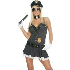 Adult Sexy Cop Lady Costume