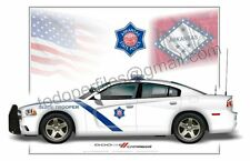 Dodge Charger Arkansas State Police  - Patrol Car Profile
