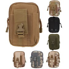 Tactical Molle Bag Waist Pack Bum Pouch Bag Military Fanny Pack Pocket Case