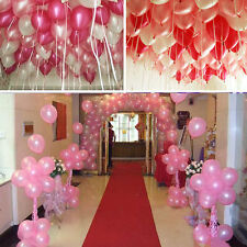 100 PCS Multiple Colors Latex Balloons Wedding Birthdy Light Up Decoration Party