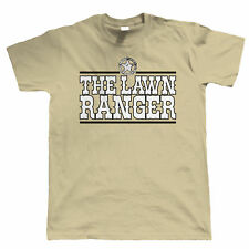 The Lawn Ranger Mens Funny Gardening T Shirt - Gift for Dad Grandad Fathers Day