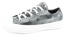 New Women's Converse Ct Womens Bars & Stars Ox Black/white Footwear Sneakers Sho