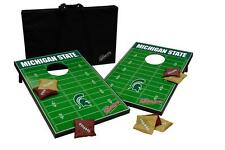 Michigan State University Cornhole Bean Bag Toss Game