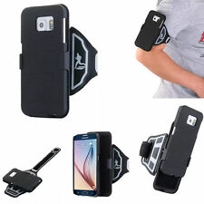 NEW Running Sports Armband Case Cover with Belt Clip For Samsung Galaxy iphone