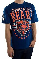 NFL Blue Football League Stitched Chicago Bears T-Shirt